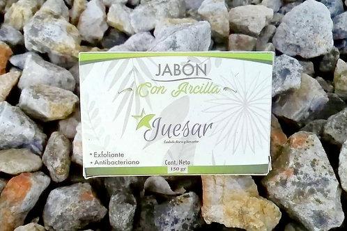 JABON CON ARCILLA