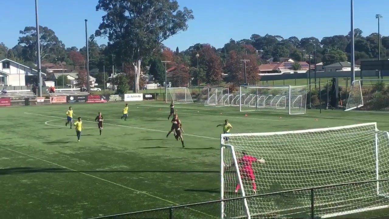 Sap U12s  Nice goal ⚽️⚽️⚽️⚽️
