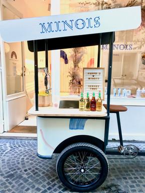GOVA triporteur retail Minois