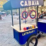 GOVA triporteur street marketing Cabaia