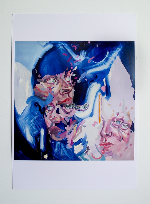 'Gaze' Large Print