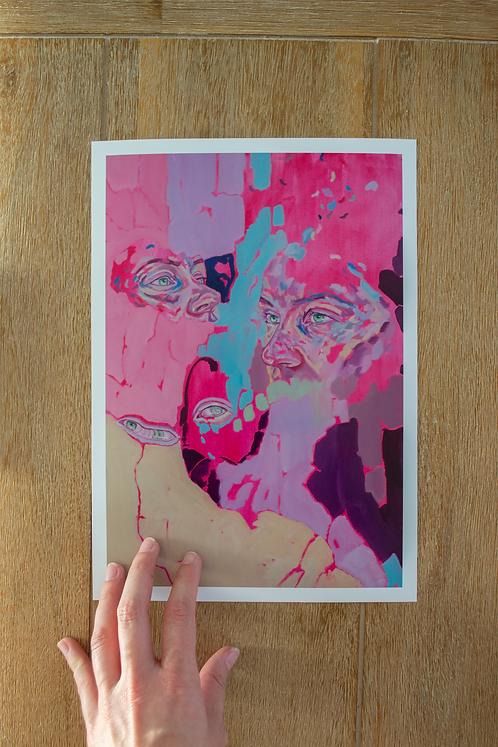 'Fragments of Sundown' Large Print