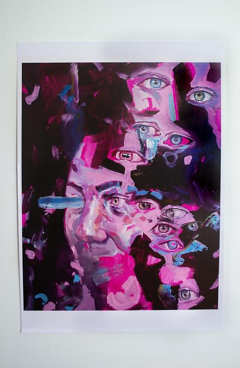 'Dark Web' Large Print