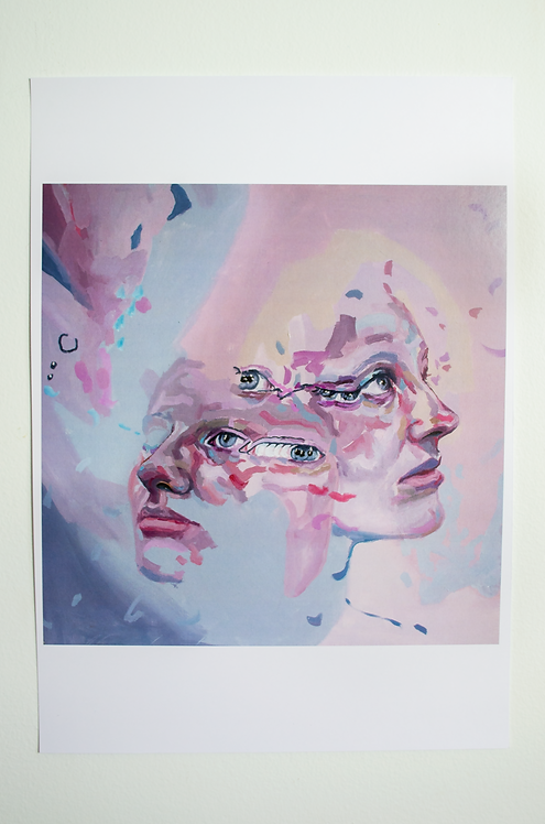 'Elemental' Large Print