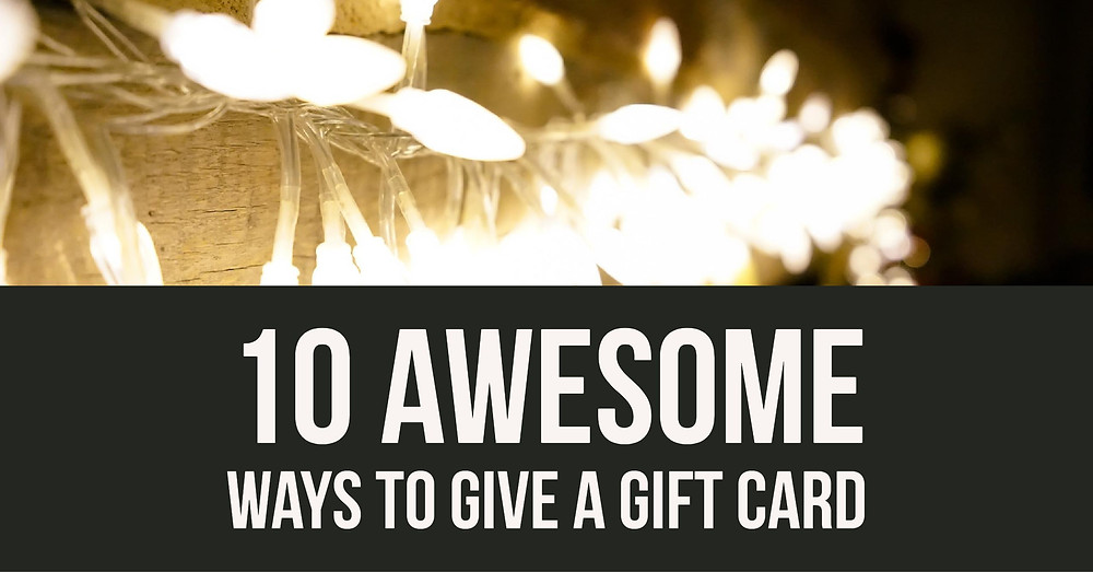 Seattle Tacoma Family Photography 10 Ways to Give a Gift Card