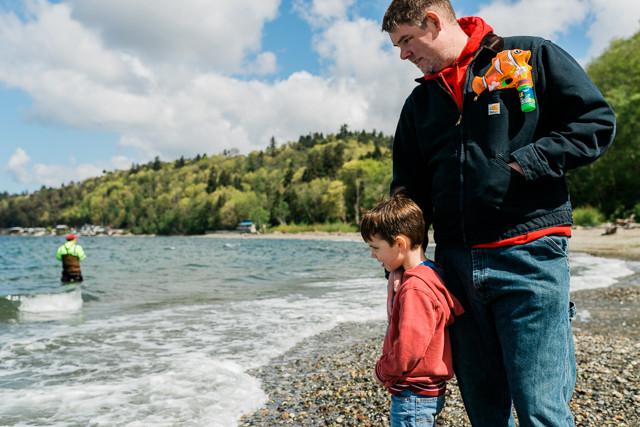 seattle tacoma family beach photography