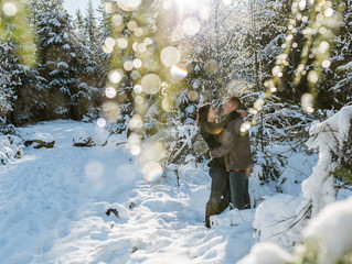 Enumclaw Engagement Photography | Kalie + Aric