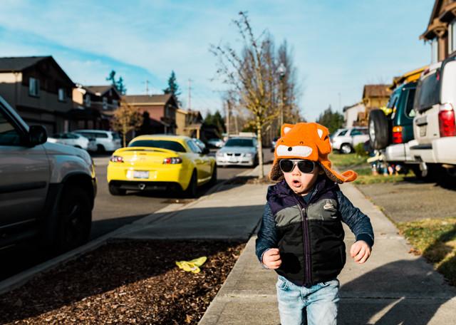 Kent Family Photography boy running