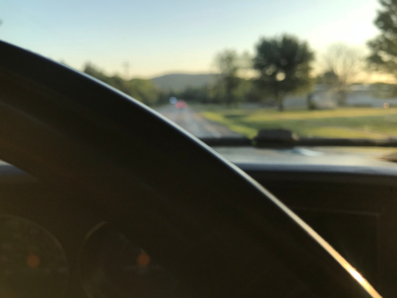 Morning Drive to Work by Ozark Solar