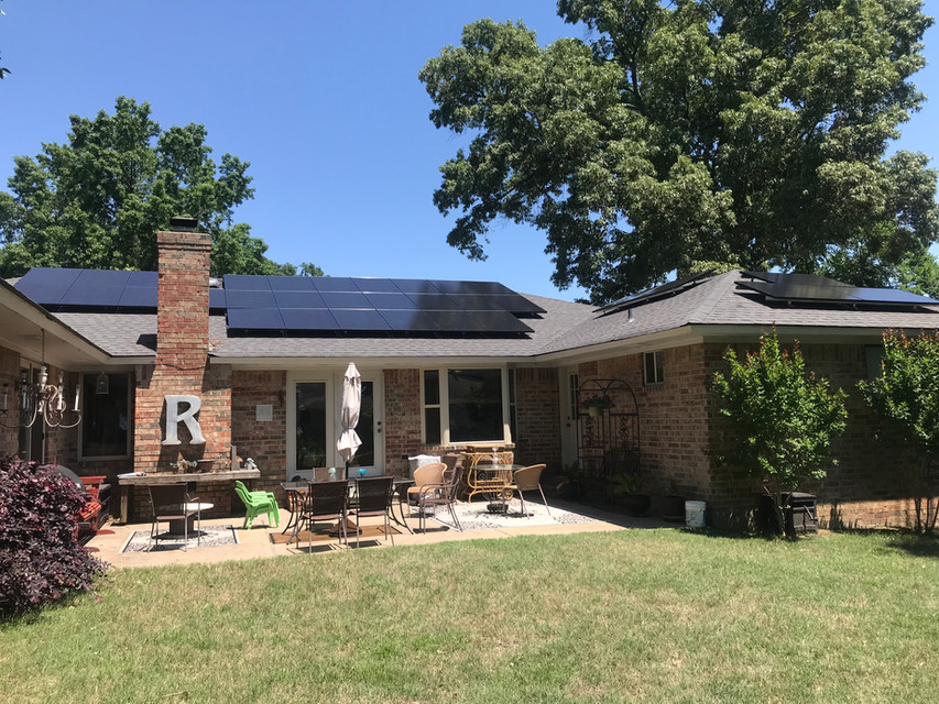 Ozark Solar Enphase Install - Fort Smith, AR