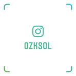 OZKSOL Instagram Nametag