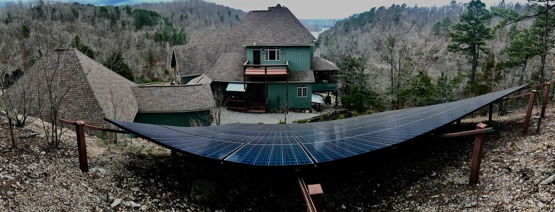 60 Panel Install by Ozark Solar