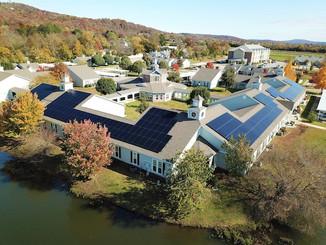 Ozark Solar Commercial Enphase Install