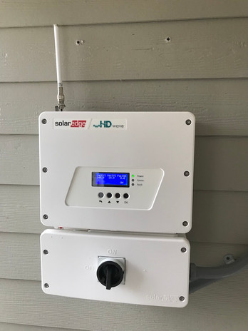 SolarEdge Inverter with cellular connection by Ozark Solar