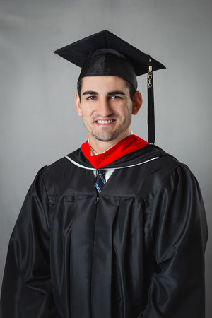 Graduation Portrait Biola University Austen Austin Hunter Photography
