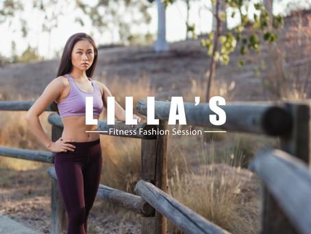 Lilla's Fitness Fashion Session