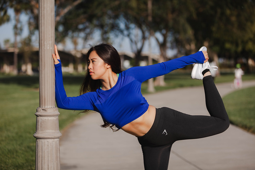 Los Angeles Temple City Photographer | Portrait Photography | Modeling Tips | Beautiful Girl Female Model Fitness Portrait