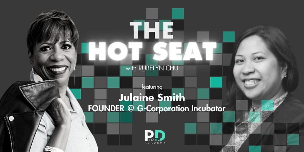 The Hot Seat: Julaine Smith | Founder @ G-Corporation Incubator (1)