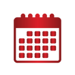 First Call Heating and Cooling Icons Red