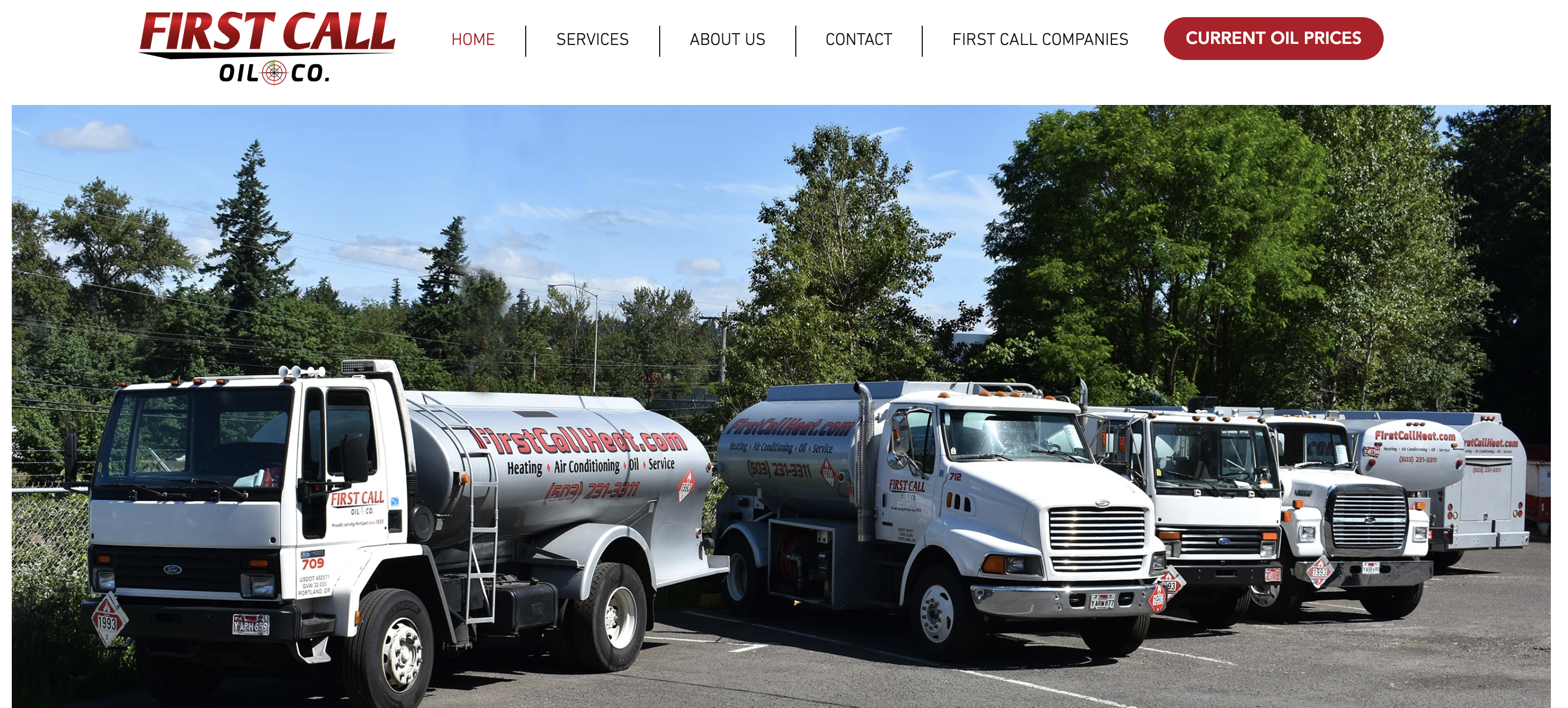 Contact Heating Oil First Call Oil Portland Oregon