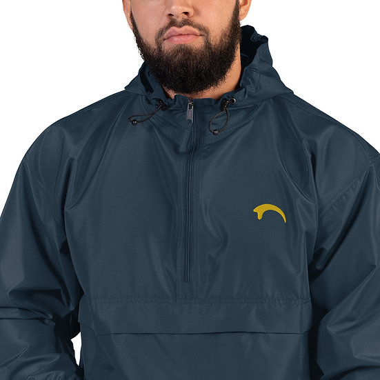 Raptor Claw (Gold) Embroidered Champion Unisex Packable Jacket