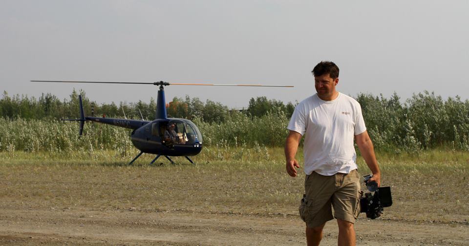 Shooting Alaska aerials