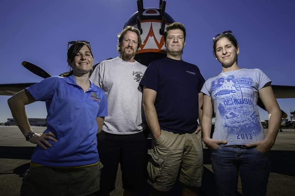 The Hemlock Crew on location