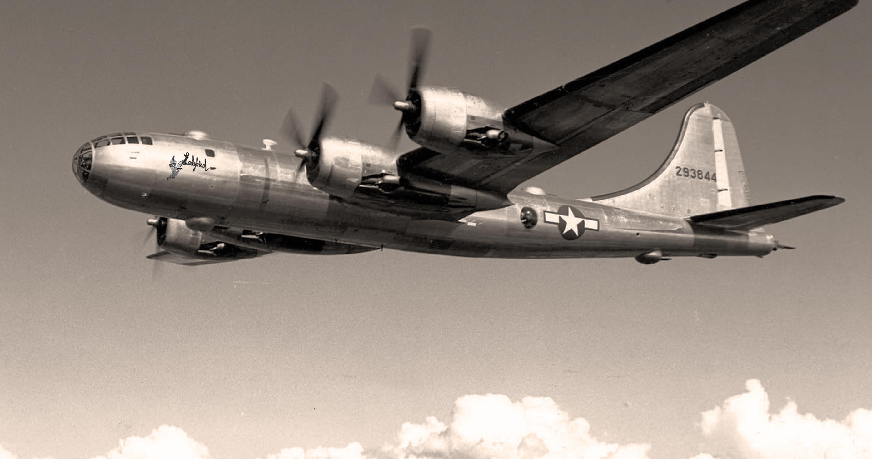 CGI Mockup of WASP B-29 Ladybird