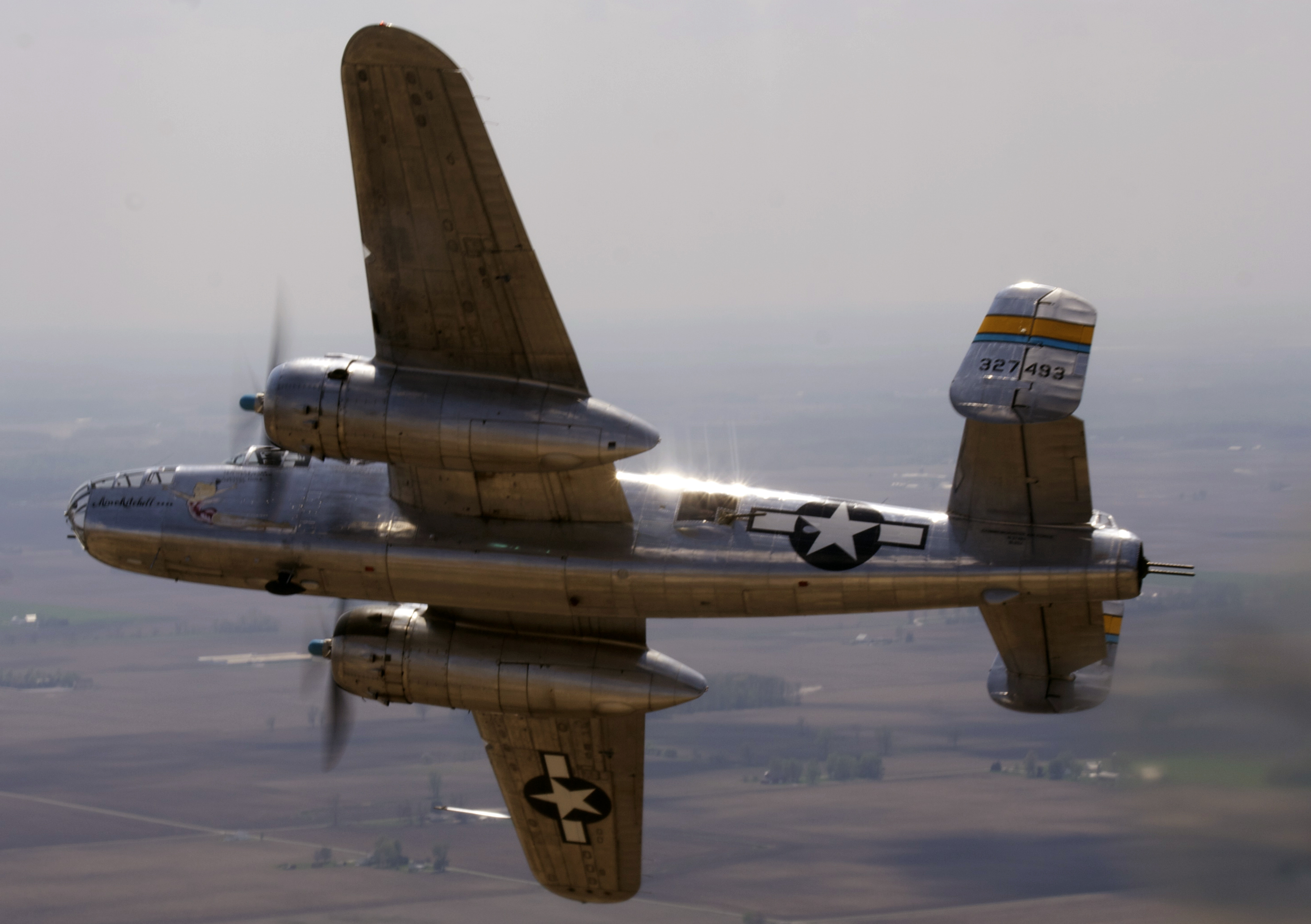"""The B-25 """"Miss Mitchell"""""""