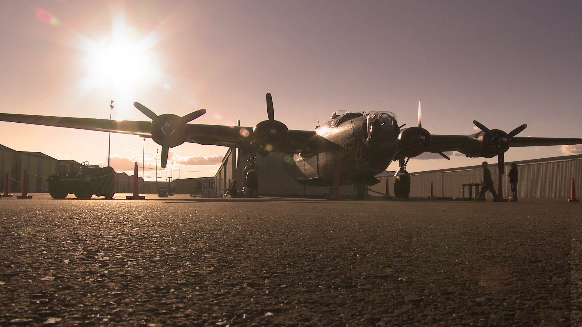 Bomber Camp's B-24