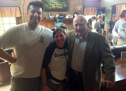 Filming with acting legend Ed Asner