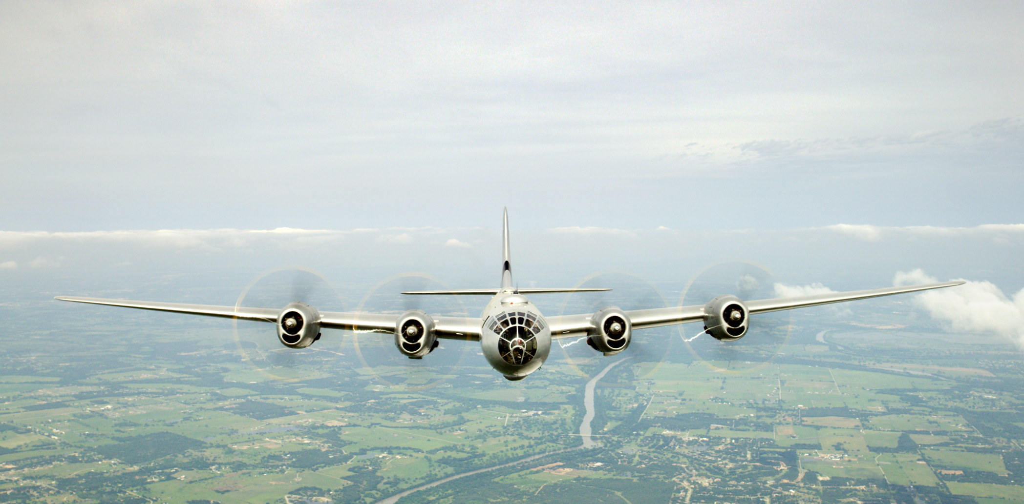CAF B-29 Fifi standing in