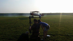 "Filming during ""Beyond The Powder"""