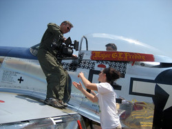 """Filming """"Rise Above"""""""