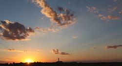 Avenger Field sunset