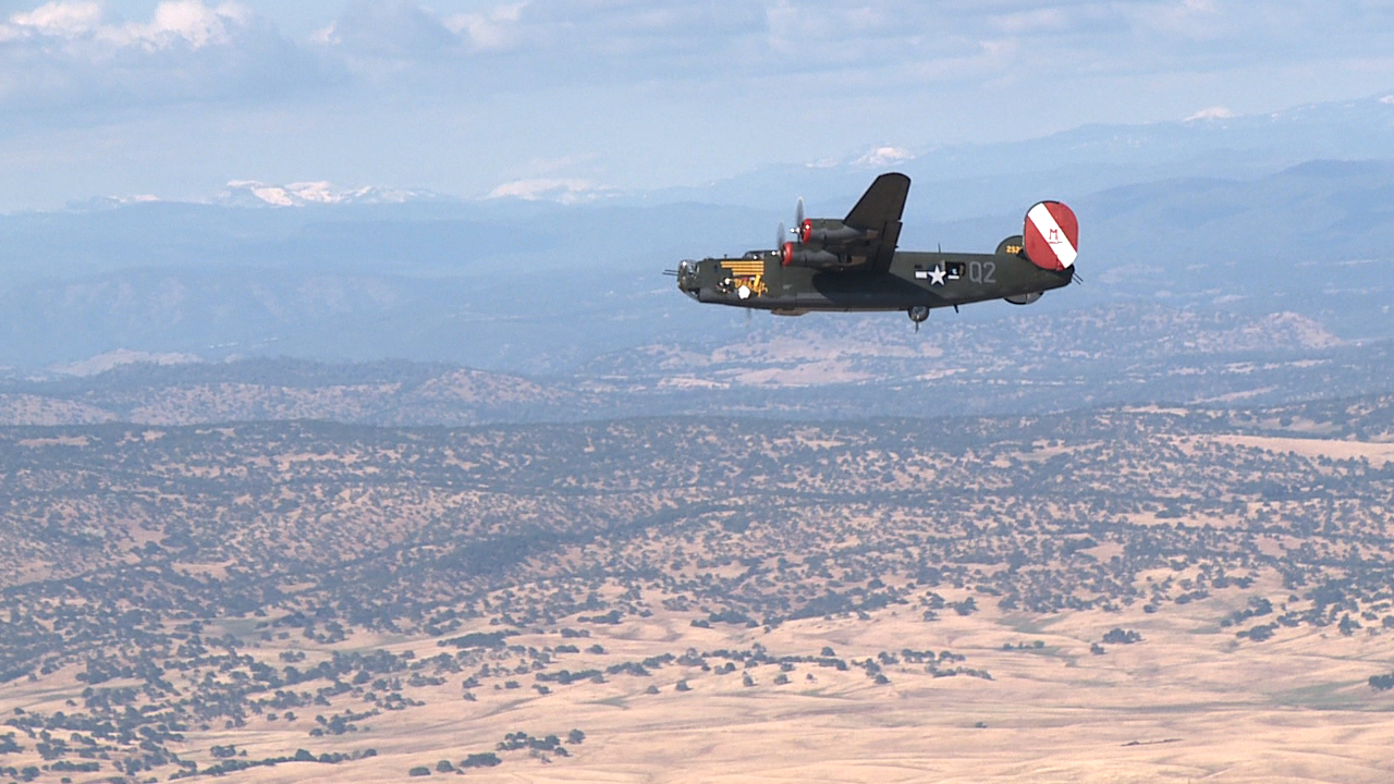 B-24 Witchcraft makes her run