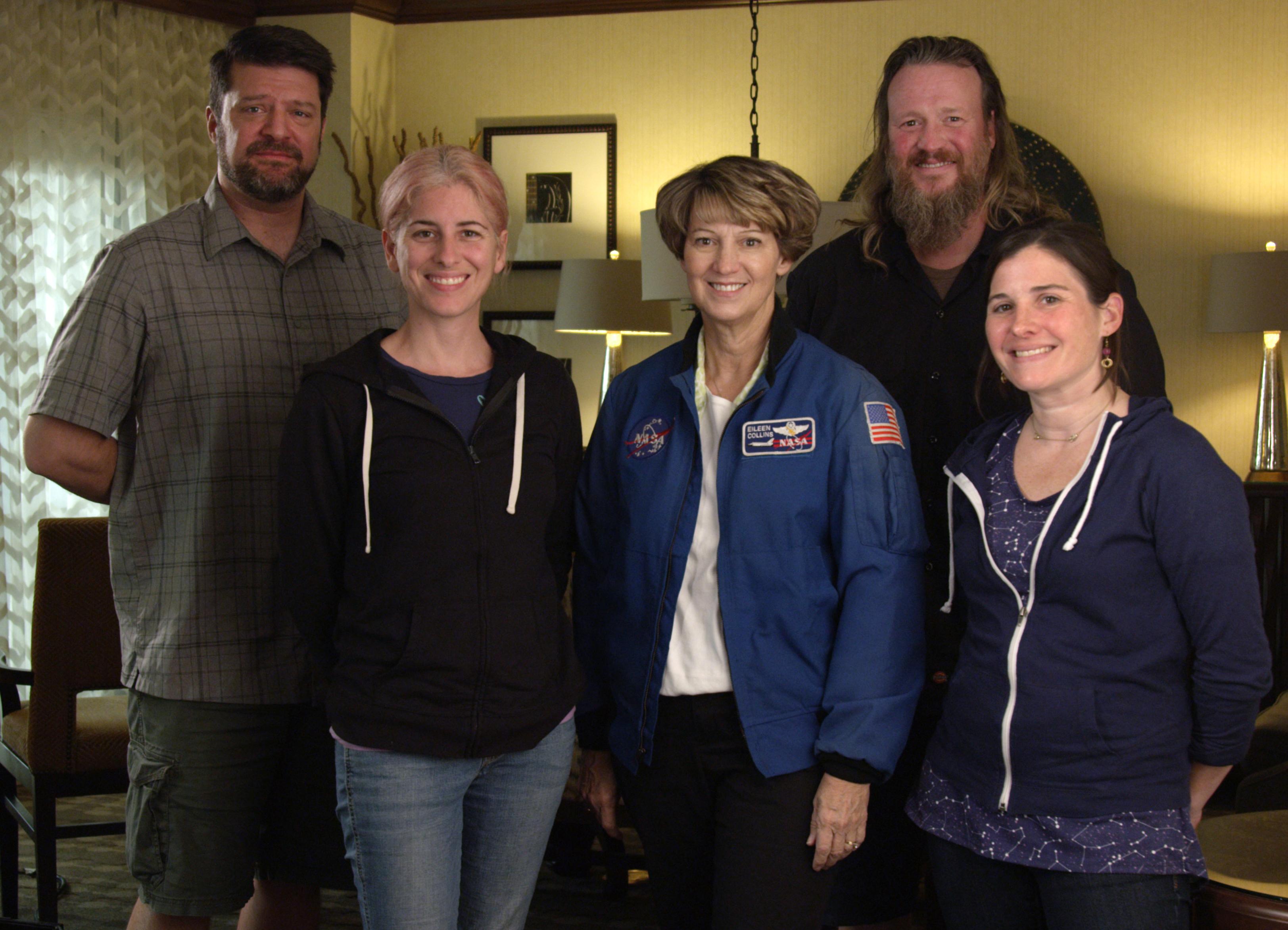 Astronaut filming 2
