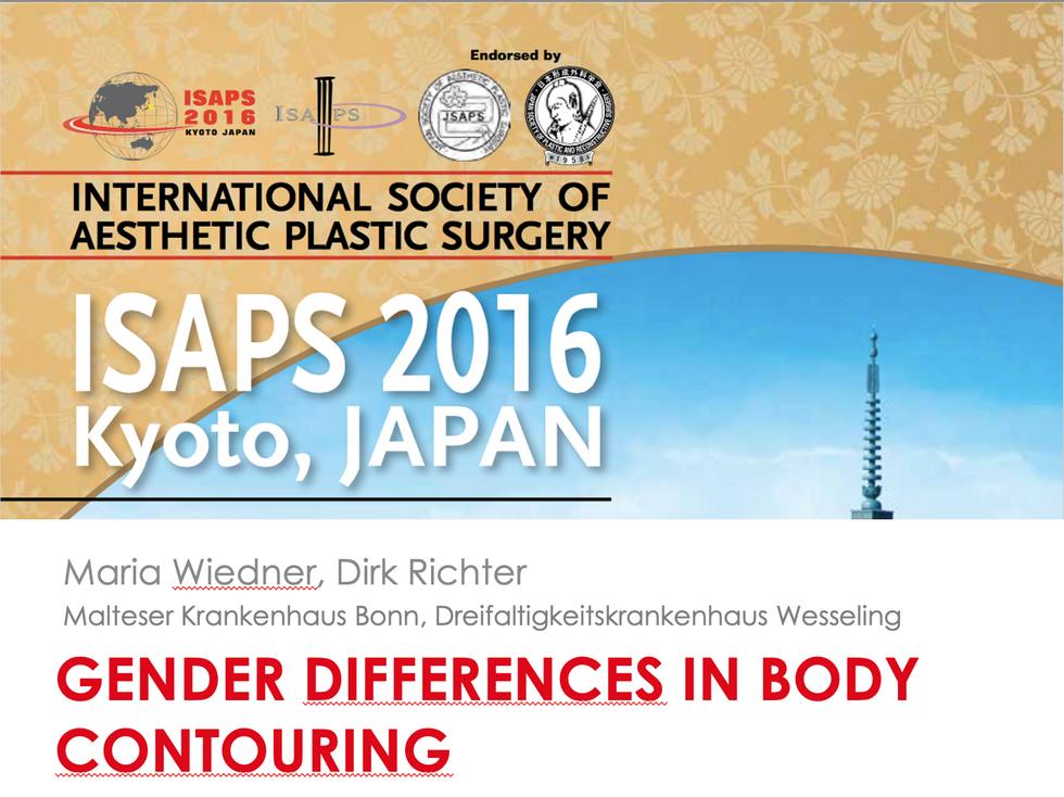 Vortrag ISAPS Worldcongress Kyoto 2016