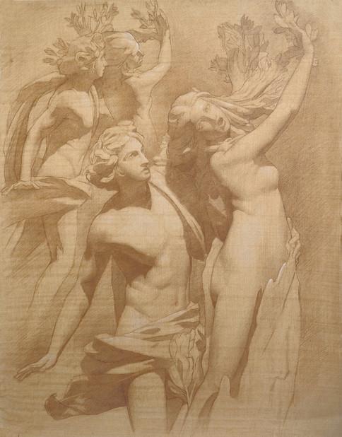 Apollo and Daphne 55.8 x 43.8 .jpg