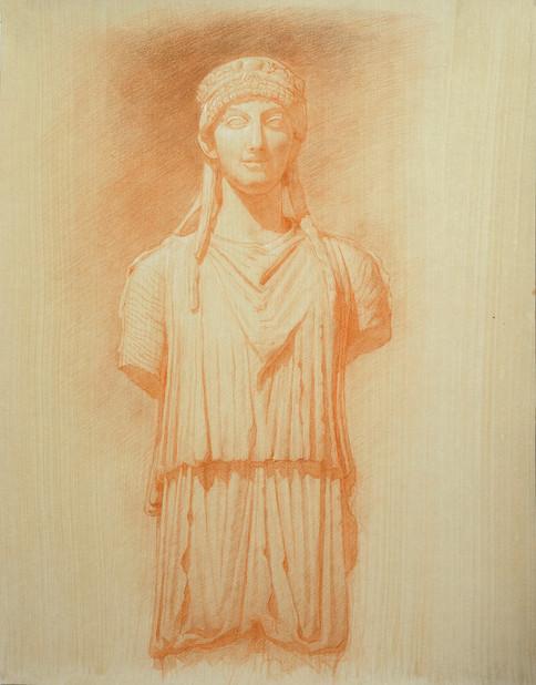 Herm of a Caryatid 55.8 x 43.8 .jpg