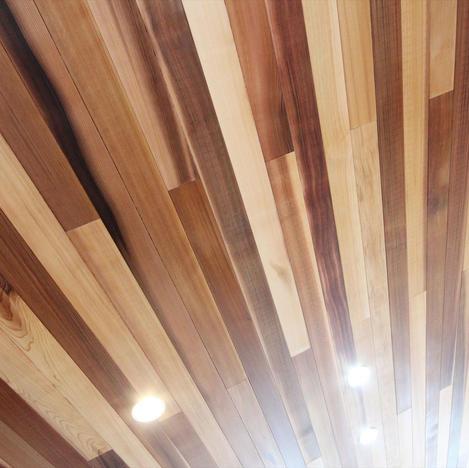 羽目板天井