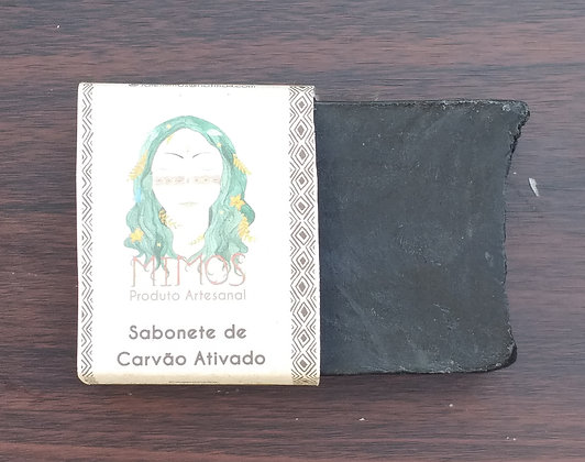 Sabonete Vegetal Carvão Ativado - MIMOS
