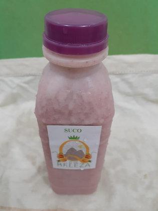 Batida de Coco e Morango com Vodka - Suco que Beleza