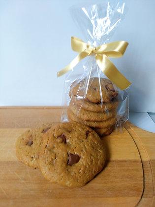 Cookies com gotas de chocolate 5un - Árvore da Vida