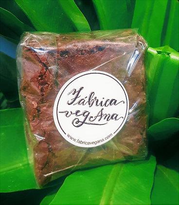 Brownie de Chocolate Sem Glúten - Fábrica Vegana