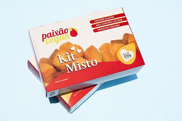 Kit salgadinhos misto - Paixão Vegan