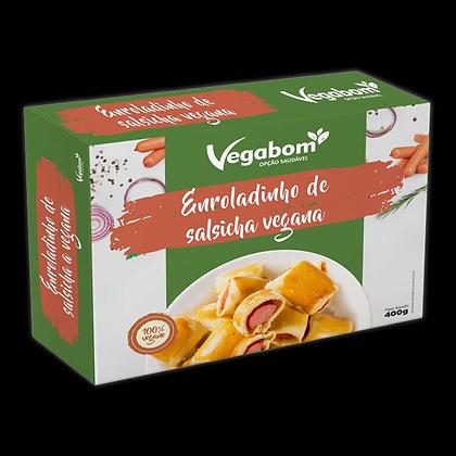 Enroladinho de Salsicha- Vegabom