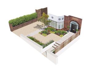Front Garden Design, Oakdene Park, West Finchley, London