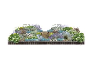 Mediterranean Front Garden, Blackheath, London