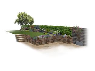 Planting Design, Greenhalgh Walk, Hampstead Garden Suburb, London